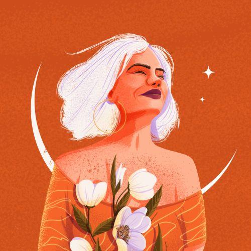Andressa Meissner Portraits Illustrator from Brazil