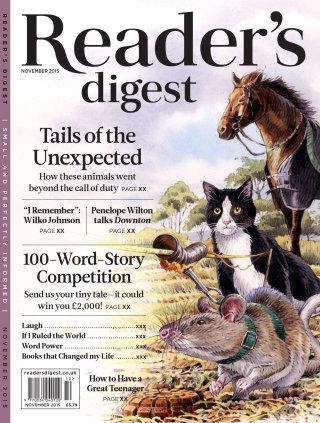 An illustration for Reader's Digest - Tails