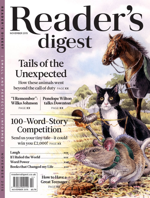 An illustration for Reader's Digest - Tails