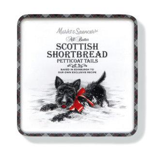Scottish shortbread petticoat tails