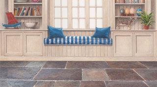 cottage interior architecture design by Andrew Hutchinson