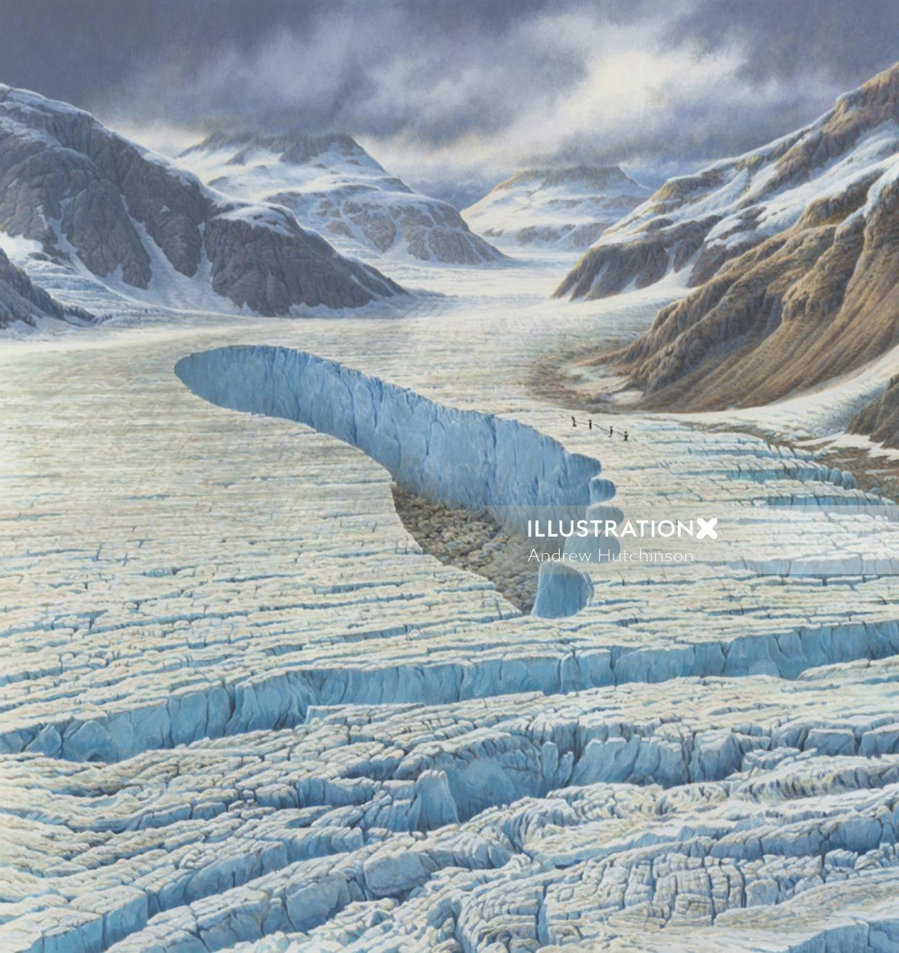 Carbon footprint illustration, environment images © Andrew Hutchinson