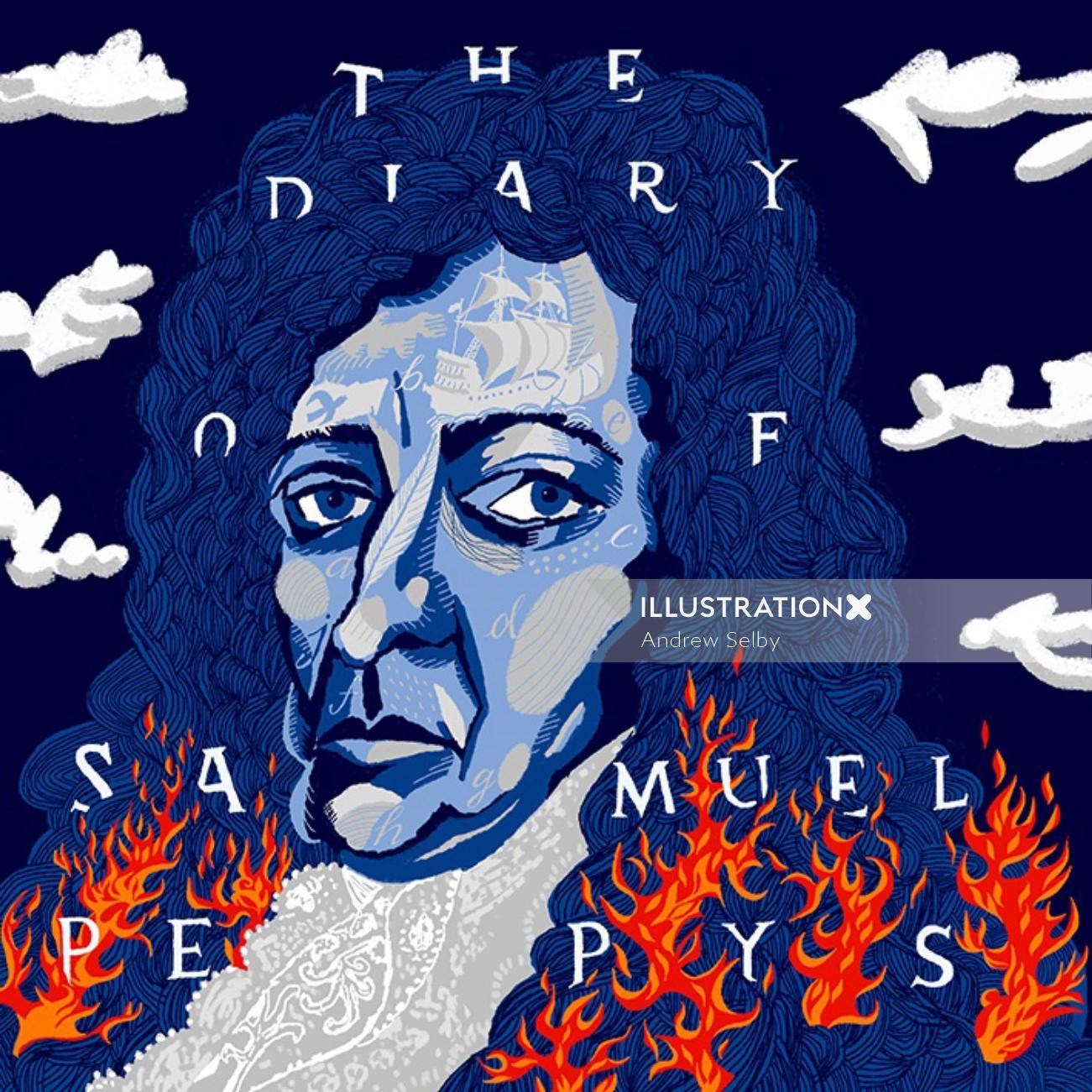 Samuel pepys diary cover