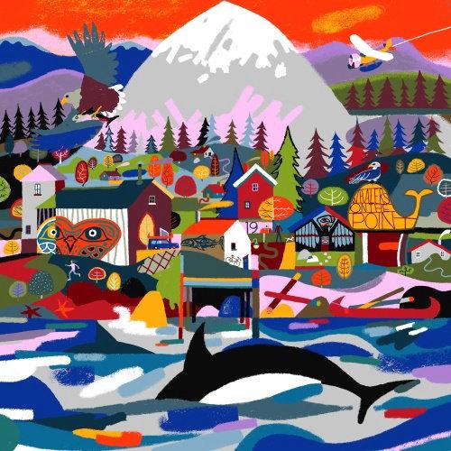 Pacific Rim Whale Festival architecture