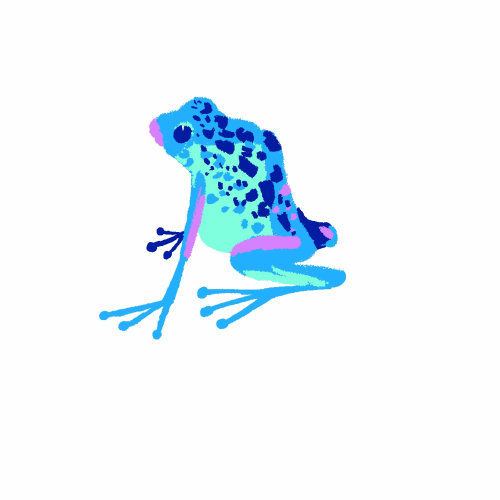 Amazing Frog Lonely Planet Digital graphic