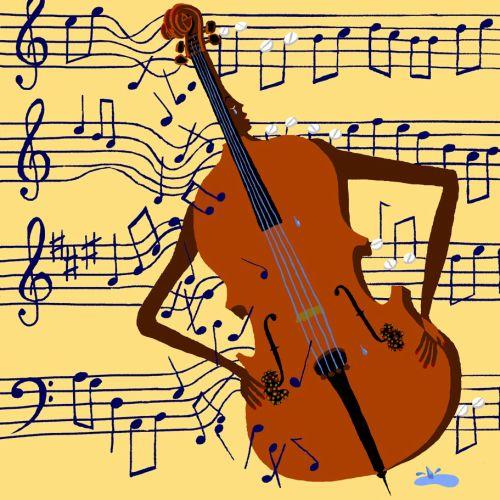 Kidney disease in shape of violin