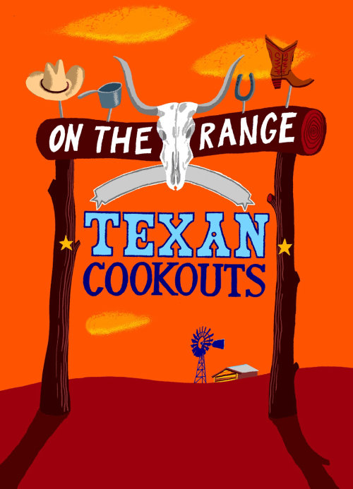 On the range Texan cookouts
