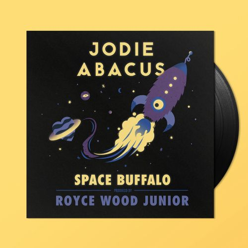 Retro Graphic space buffalo