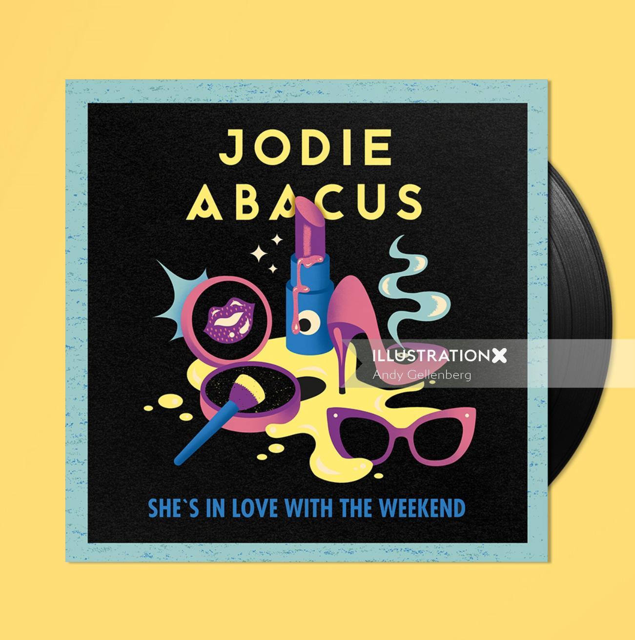 Retro Graphic Jodie Abacus