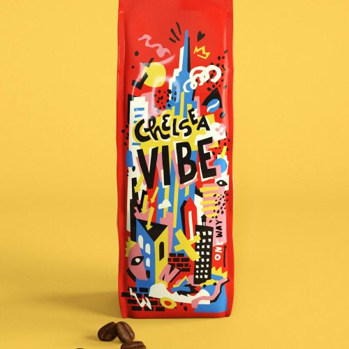 Packaging chelsea vibe coffee