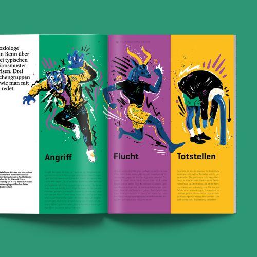 Conceptual animal book
