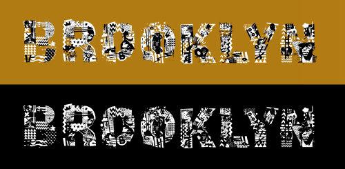 Lettering Brooklyn