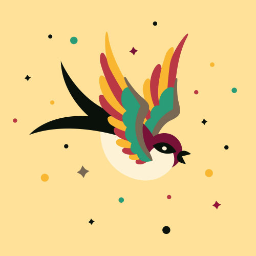 Animal Graphic Bird