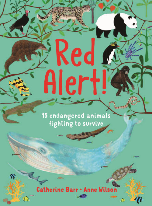 """Red alert Cover for Otterbarry Books """