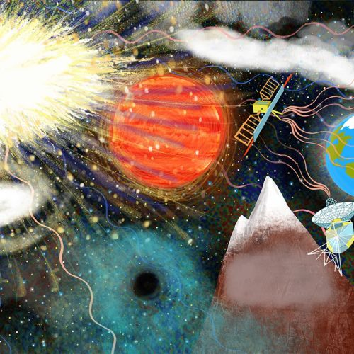 space, microwaves, satellites, planets, universe, big bang
