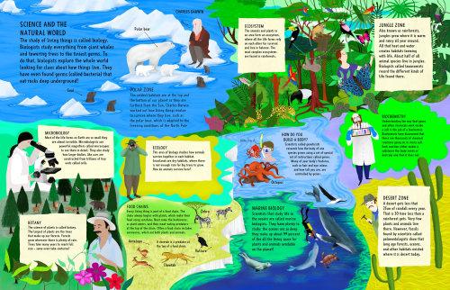 natureza, biologia, habitats, diversidade, ciência