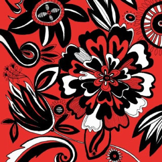 ornate flowers | Nature illustration collection
