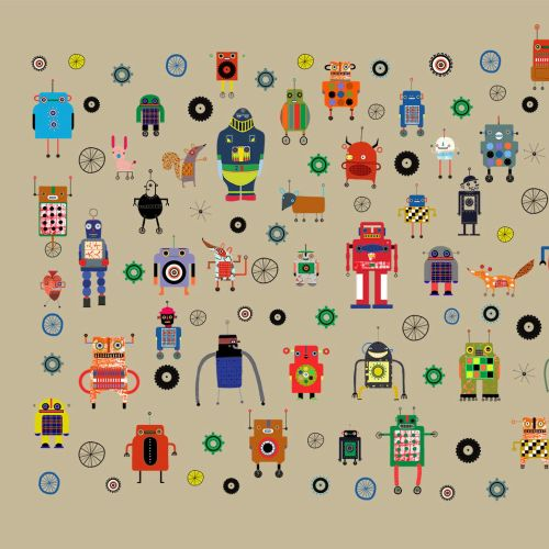 Robots illustration by Anne Wilson