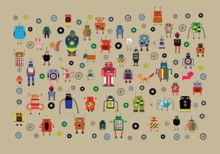 Robots illustration by Anne Wilson