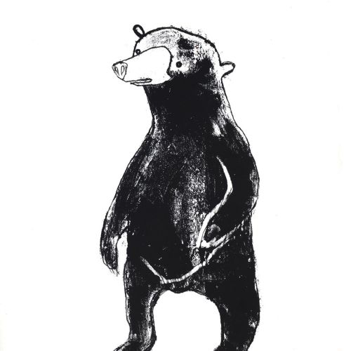 An illustration of Fuzzy Bear