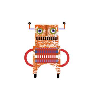 Robot illustration by Anne Wilson