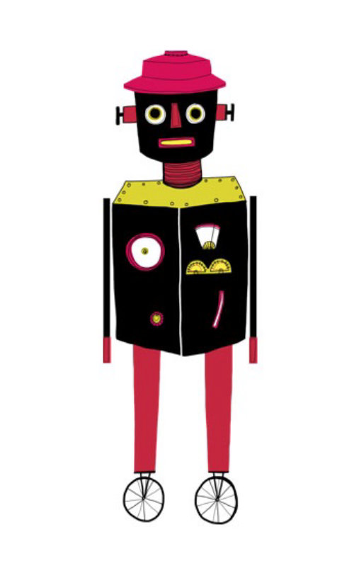 An illustration of robot