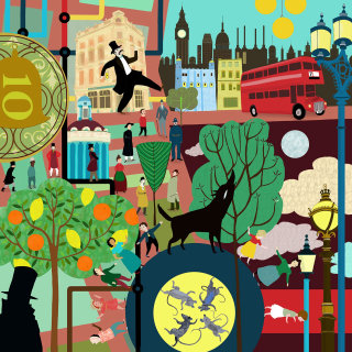 An illustration for London Stories