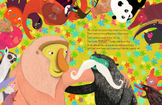 animals wildlife nature monkey