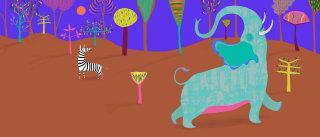 Elephant | Animal illustration collection