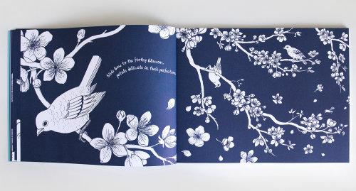 Book page design by Annie Davidson
