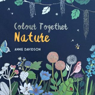 """Coloring Book of """"Colour Together : Nature"""" for Andersen Press in U.K"""