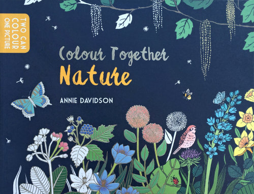 "Livre de coloriage de ""Colour Together: Nature"" pour Andersen Press au Royaume-Uni"