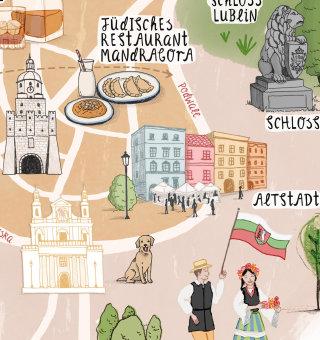 Map design of Dublin Annie Davidson