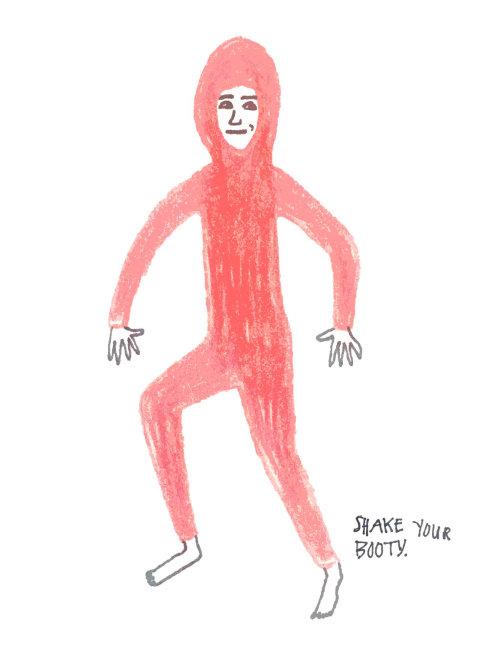 Shake ya ass dancing animation