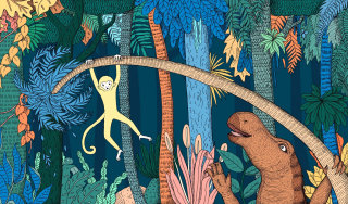 Illustration of Children's book for Medibank