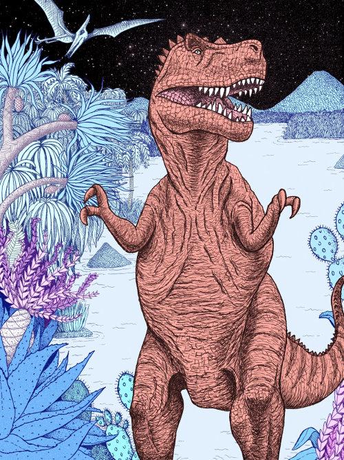 Illustration Tyrannosaurus Rex