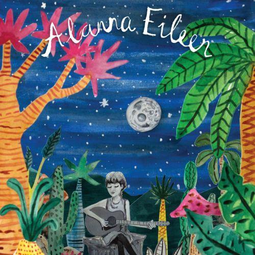 Gig poster design for Alana Eileen