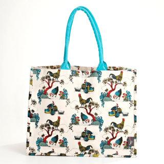 Market bag design by Annie Davidson