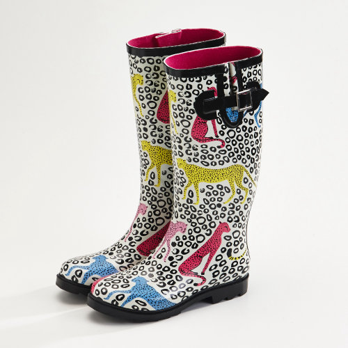 Conception aquarelle de Africa Gumboots