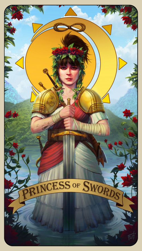 Digital Princess of Swords