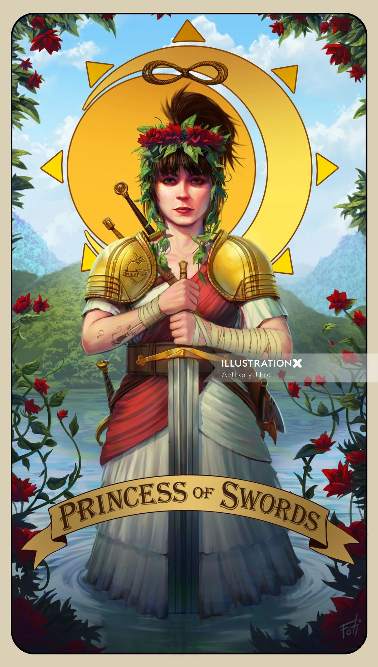 Rachel Fannan - Princess of Swords