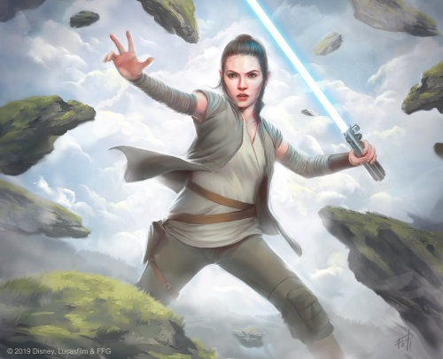 Star Wars: Destiny - Rey
