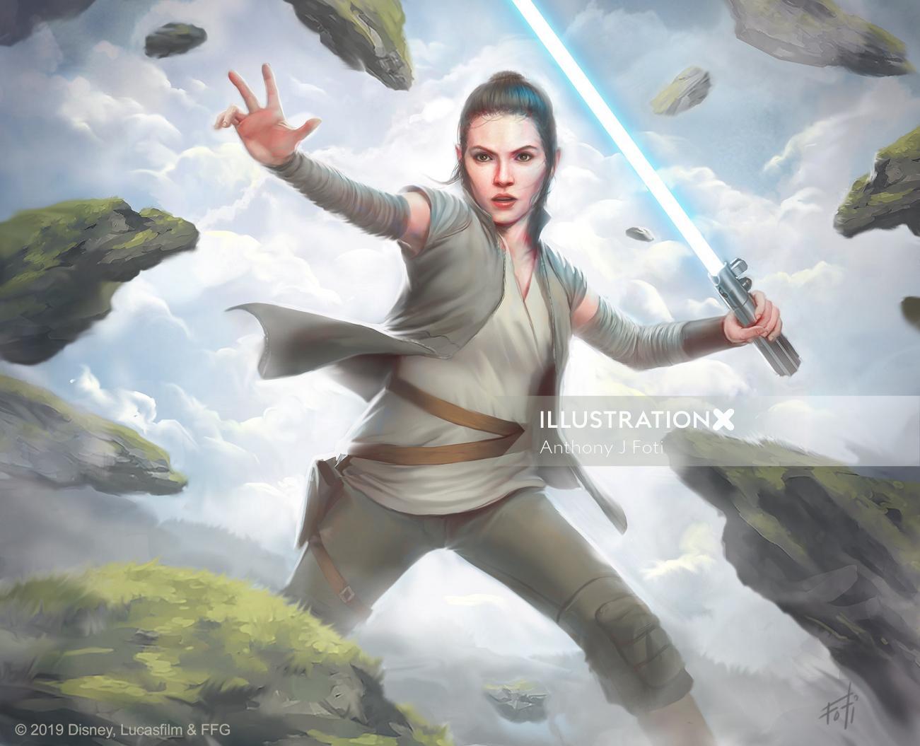 Star Wars: Destiny - Rey