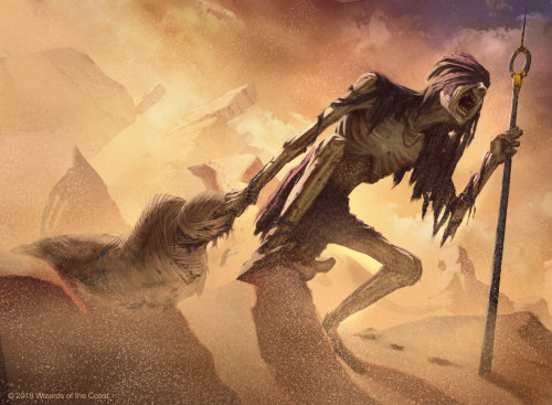 Fantasy gathering-gravedigger