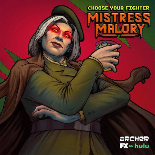 Gaming Mistress Malory