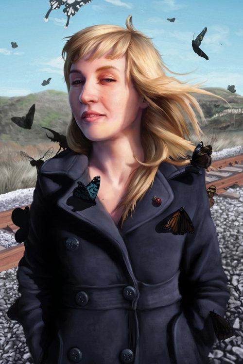 Modern portrait of Cathryn