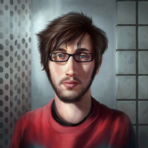 Anthony J Foti self portrait