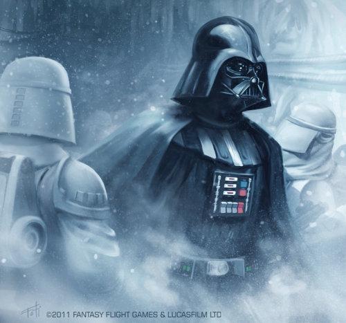 Art of Darth Vader Star Wars character
