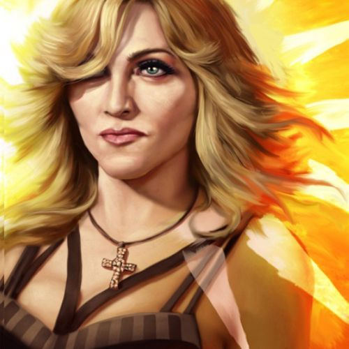 Illustration of Madonna