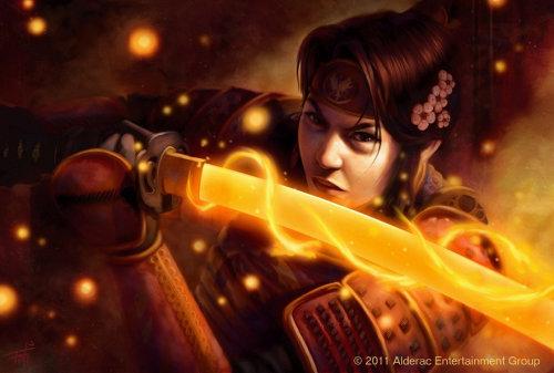 Fantasy art of Shiba Ryuba